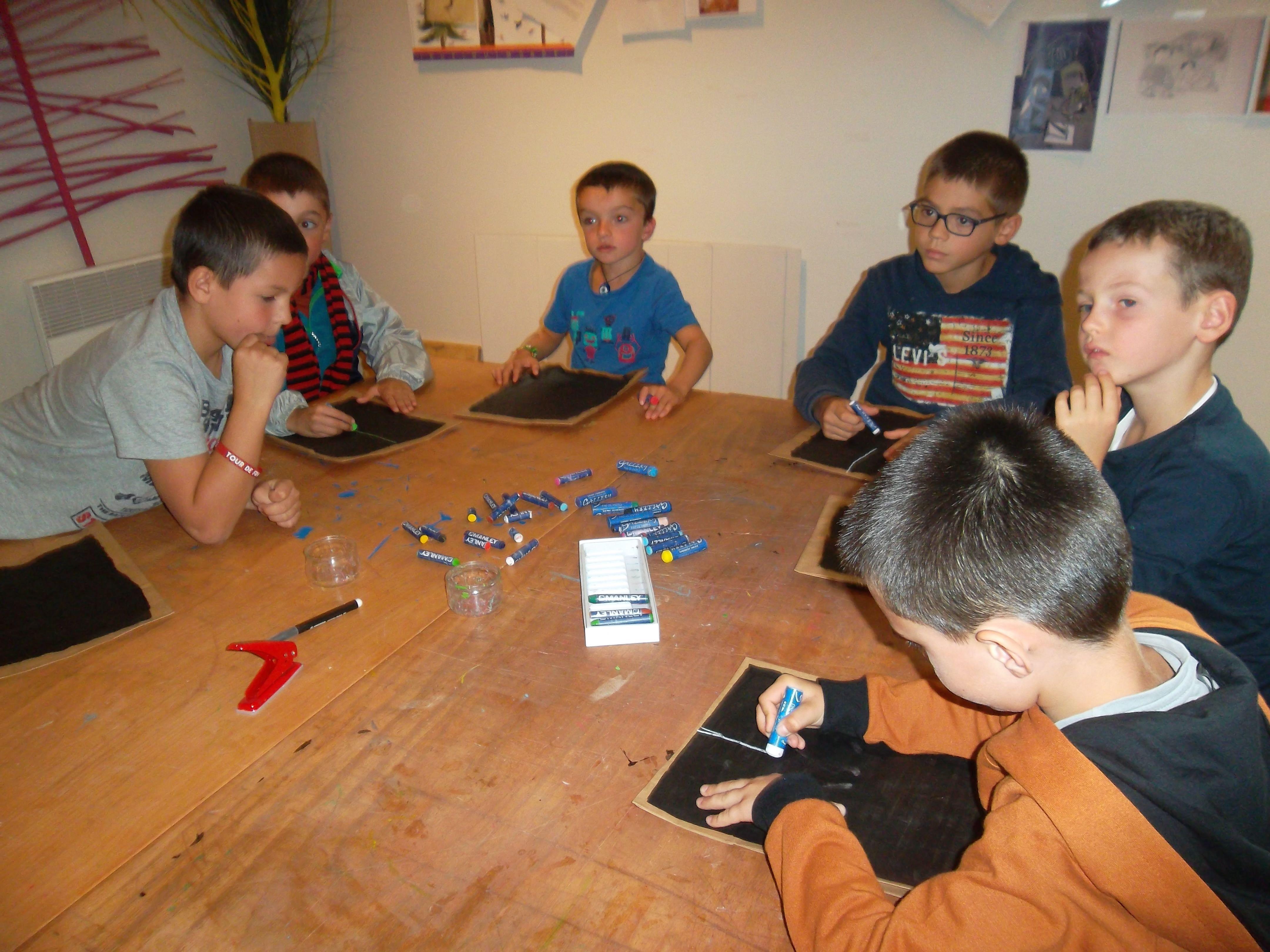 Les élèves de CE au Puy en Velay