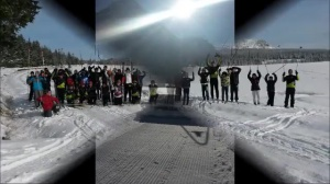 Section ski de fond:première sortie