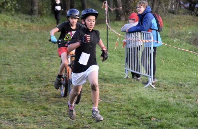 Très belles prestations des élèves de la section sport nature aux académiques de Run&Bike