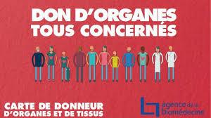 Intervention sur les dons d'organes