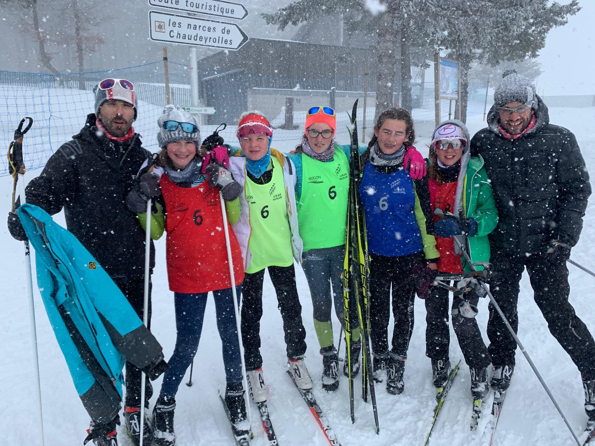 championnat académique de ski nordique