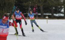 Au pied du podium aux championnats de France de ski nordique UNSS