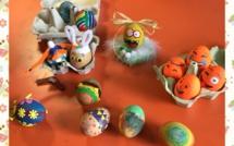 Concours d'œufs décorés