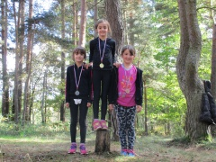 podium filles CE